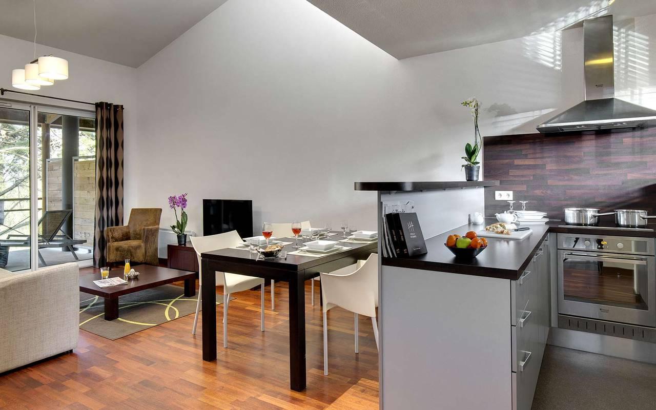appartement t2 domaine de cic blossac chambres et suites hotel de charme rennes bruz. Black Bedroom Furniture Sets. Home Design Ideas